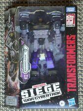 Transformers Barricade action figure Siege War for Cybertron NIB