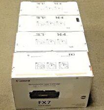 Canon FX7 Black Toner Cartridge 7621A001AA Genuine New Open Box Lot Of 2