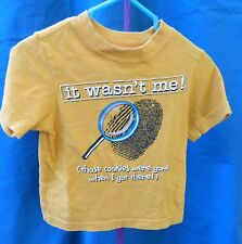 Place Yellow Gold Short Sleeve Uni-Sex Tee w/Graphic Size 12-18 M