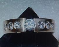 TOP Design Spannring 13 BRILLANTEN 1,15 carat 585 Gelbgold Größen 55,56,57,58