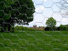 CHICKEN FENCE MESH Wire Net Fencing 50m x 1.05m 31mm 19g Rabbit Netting 1050mm