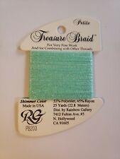 Rainbow Gallery Thread Petite Treasure Braid PB203 new cross stitch embroidery