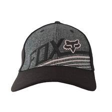 NWT Men's Ball Sport Cap/Hat S/M Size Fox FlexFit Pattern Black#31 Xmas Gift