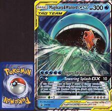Pokemon Karte - Magikarp & Wailord GX SM 166 Promo | XXL JUMBO Card | NM EN