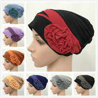 Women Cancer Hat Chemo Cap Muslim Hair Loss Head Scarf Turban Head Wrap Hats New