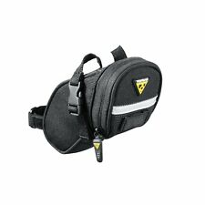 Topeak TC2471B Aero Wedge Pack / Bike Bicycle Strap Saddle Seat Bag Pannier