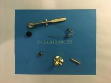 Universal Main Tuning Slide Water Key Assembly for Tuba and Sousaphone