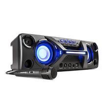 [OCCASION] Boombox Mini chaine portable Bluetooth + 1 micro karaoké 2x20W + batt