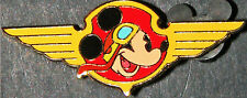 New listing Pin Disney Pilot Mickey Mouse Airplane Auction Limited Edition 100 Wings Helmet