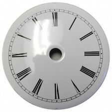 Replacement White French Clock Enameled Dial Roman Numerals 95mm - CD64