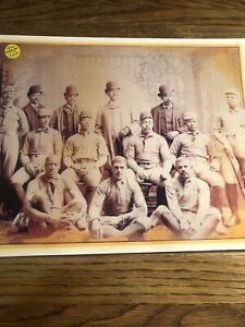 1894 Early Negro League Bristol Boys Baseball Club 11x14 Laminated Photo
