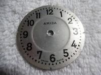 Antique Pocket Watch Face Amida Swiss Made 79-9HHH