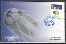Qatar, Scott cat. 1009. 2006 World Cup Soccer issue. First day cover.
