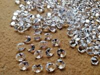 Wholesale Lot White Crystal Quartz 8x10 MM Faceted Oval Loose Gemstone Jewelry