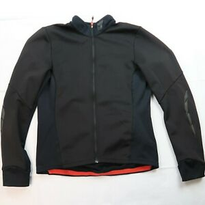 Specialized Element Women's Cycling Jacket Size Medium Black Full Zip Pockets