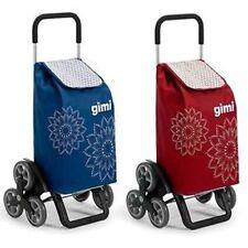 GIMI - CARRELLO PORTASPESA mod.TRIS con 3 RUOTE per SALIRE e SCENDERE le SCALE