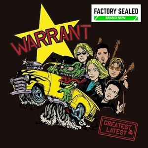 Warrant – Greatest & Latest CD Digipak NEW