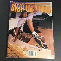 Transworld Skateboarding Magazine August 1989 - Tony Hawk A Retrospective