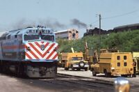 RTA Railroad Steam Locomotive 160 KENOSHA WI Original 1985 Photo Slide