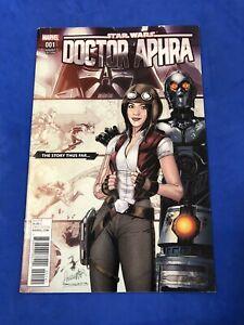 DOCTOR APHRA #1 STORY THUS FAR VARIANT COVER STAR WARS MARVEL