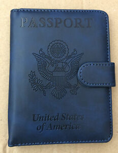 United States Passport Holder BLUE- NEW