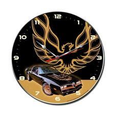 PONTIAC Wanduhr groß V8 Uhr Clock TRANS AM FIREBIRD GM Bandit Muscle Car