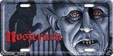 Nosferatu Car Tag - Vampire Dracula - Max Schreck