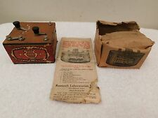 VINTAGE KLEER-TONE RADIO APPARATUS OLD ANTIQUE ITEM IN ORIGINAL BOX