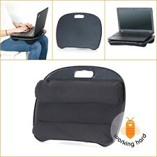 PORTABLE LAPTOP DESK Tablet Notebook Computer Bed Lap Pad Comfort Cushion Stand
