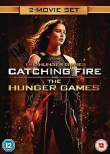The Hunger Games / The Hunger Games: Catching Fire DVD R2 New