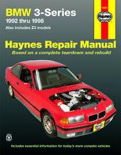 BMW 3-series & Z3 1992-1998 Car Manual Haynes 18021A