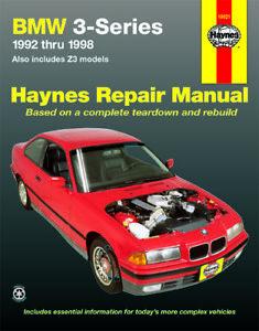 BMW 3 Series (1992-1998) Haynes Repair Manual (USA)
