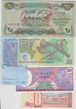 More details for 19 different world banknotes in very fine to mint condition