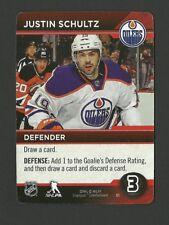 Justin Schultz Edmonton Oilers Cryptozoic 2014 Hockey Card