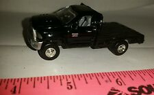 1/64 CUSTOM 2013 dodge black 2500 cummins flatbed pickup truck ERTL farm toy