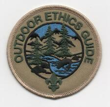 """Outdoor Ethics Guide Patch, """"Since 1910"""" Slogan Back, Mint!"""