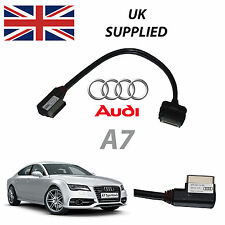 AUDI A7 2011-2014 AMM MMI 4F0051510R iPhone iPod AUDIO & VIDEO CABLE (red)