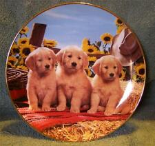 """Good As Gold"" Franklin Mint Heirloom Plate"