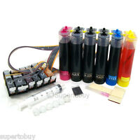 6 Color Continuous Ink System For Canon PIXMA MG8120 MG8220 MG8120B w/Chip CISS