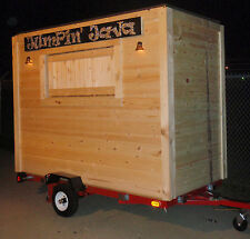 Hot Dog Vending Trailer Plans - Build mobile concession stand  for only $1000