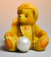 Cherished Teddies: Tiny Treasured Teddies - 104864 - Bear With Necklace