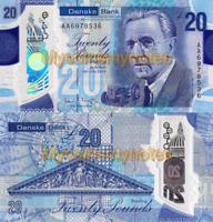 NORTHERN IRELAND, £20, 2020, (AA Prefix), P-NEW, DANSKE BANK, POLYMER, UNC