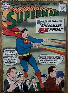 SUPERMAN COMIC (DC,1958) #125 SILVER AGE ~