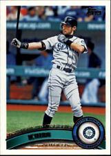 2011 Topps Seattle Mariners Baseball Card #385 Ichiro Suzuki