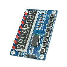 8-Bit Digital LED Tube 8-Bit TM1638 8 Key Display Module For AVR Arduino M