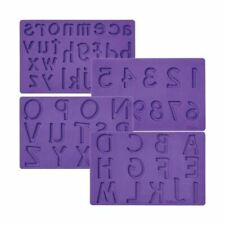 Letters and Numbers Fondant and Gum Paste Silicone Mold Set from Wilton 2547