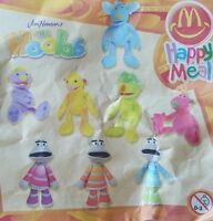 McDonalds Happy Meal Toy 2003 Jim Henson Hoobs Motorettes Soft Toys - Various