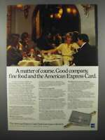 1978 American Express Credit Card Ad - Good Company