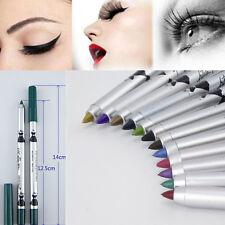 1PC coffee Color Matte Waterproof Cosmetic Gel Eyeliner Pen Pencil Makeup
