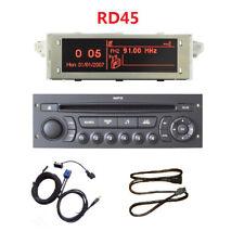 RD45 Autoradio USB AUX Bluetooth CD für 207 206 307 C3 C4 C5 Upgrade von RD4